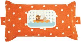 Feuchttücherbox Box für Babytücher Orange Feuchttücher Tasche geschenk zur Geburt Geschenk für werdende Mütter Praktisches Geschenk