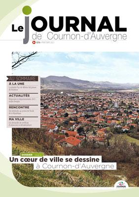 Couverture du Magazine de Cournon adapté par Braille & Culture