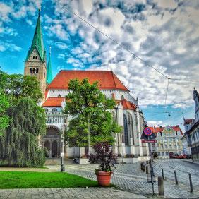 Dom Augsburg, Hoher Dom zu Augsburg, Hoher Weg, Altstadtführung
