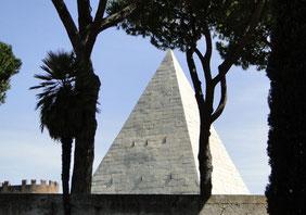 Cestius' pyramid