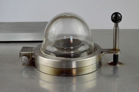 Vakuumkammer des Wasserstoffanalysegerätes MARTECH-VTCM 0017