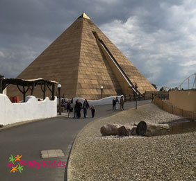 Pyramide im AbenteuerReich Belantis