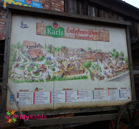 Lageplan Karls Erlebnis-Dorf Warnsdorf
