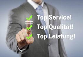 Service - Qualität - Leistung