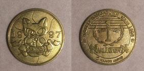 1周年記念メダル
