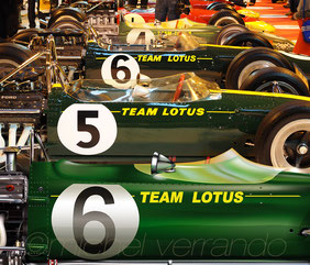 Lotus 49 R1 & R4 reproduced at scale 1/1