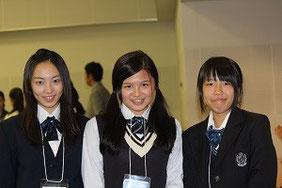 左から、中野さん、坂口さん、中西さん