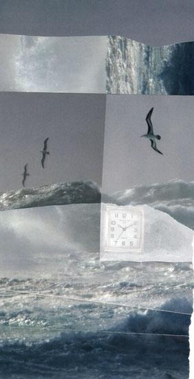 die Wellen der fliegenden Zeit