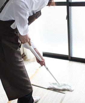 大阪・西宮の家事代行・現場のお掃除の写真