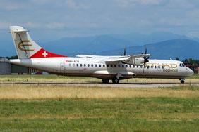 HB-ACB ATR72-212A 662 Darwin Airline-Etihad Reg