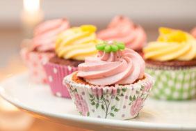 Cupcakes mit Creme
