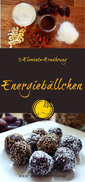 Energiebällchen, Energyballs, TCM, 5-Elemente-Ernährung