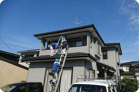 6.工事開始【新潟の雨漏り修理工事の流れ|やねのヤマムラ】