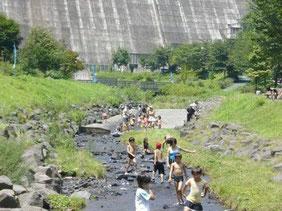 足利市の避暑地(!?)松田ダムです