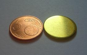 De jeton gebruikt ipv vijf cent