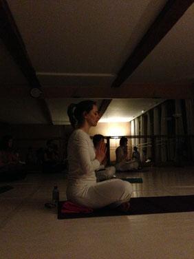 La méditation de fin de cours