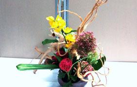 多摩区役所アトリウムの花