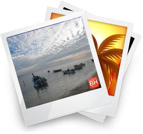 Hermosos Paisajes de Atardeceres en Playa Buen Hombre