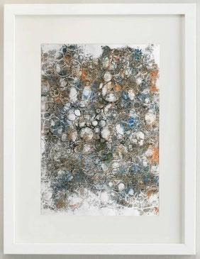 GEO_METRY, 2019, monoprint, 20 x 30