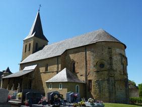 Church of Simacourbe (Vic-Bilh/Madiran)