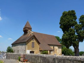 Church Saint-Martin, Lasserre (Vic-Bilh)