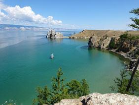 Der Baikalsee in Russland