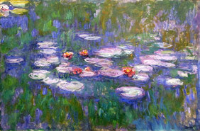 Claude Monet - Water Lilies, 1916 - 1919