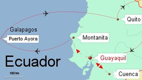 Bild: Ecuador und Galapagos
