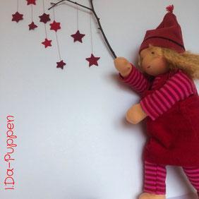 I.Da-Puppen Stoffpuppe Anja