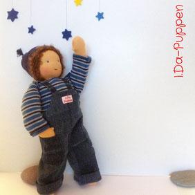 I.Da-Puppen: Stoffpuppe Till