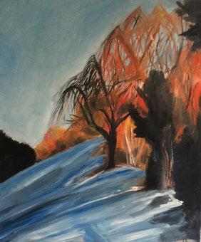 inspiriencer Wintersonne Rieterpark by artcrestani