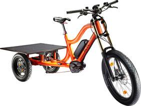 XCYC Pickup Allround Lasten e-Bike / Lastenfahrrad mit Elektromotor von Bosch