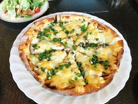 きのこたっぷり ぴるつ特製ピザ