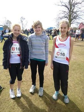 Heather Christie, Abi Pearce, Bethan Moor