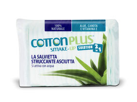 Cotton Plus 2 in 1 Aloe Maxi