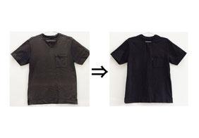 ▲綿100% Tシャツ 色あせ