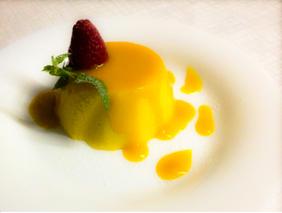 Mango mousse ristorante Indiano pisa