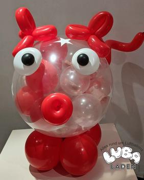 Geschenkballons Sparkasse Bamberg