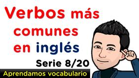 Aprendamos vocabulario en inglés con pronunciación
