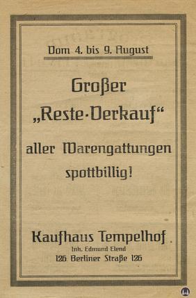 Das Tempelhofer Tivoli an der Friedrich - Karl - Straße. Kinoprogramm Seite 2.