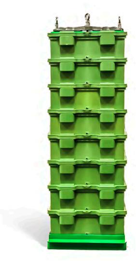 Greenrock Salzwasserbatterie Aufbau