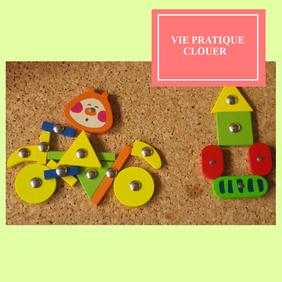 Clouer vie pratique Montessori