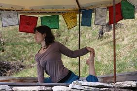 Bettina Baumgartner, Yogalehrerin und Fachfrau Rituale