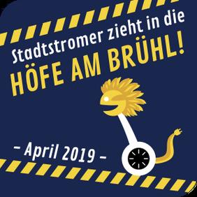 Stadtstromer zieht mit den Segway-Touren in die Höfe am Brühl!