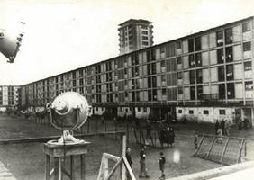 Cité de la Muette, Drancy, camp d'internement des juifs en région parisienne avant leur déportation