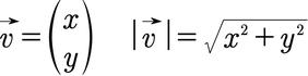 Formel für den Betrag eines Vektors