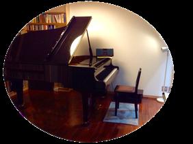 千歳烏山のけやきピアノ教室レッスン室