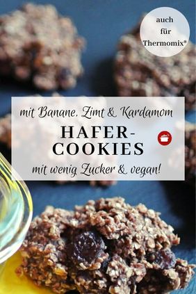 Hafer-Cookies #vegancookies #zimt #haferflocken #thermomixrezepte #cookies #lowcarb