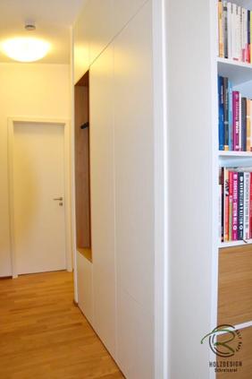 Einbauschrank Garderobe Schreinerei Holzdesign Rapp Geisingen