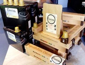 Le café torréfié par Eric Chazal existe aussi en capsules ! La brûlerie ou atelier de torréfaction se situe à Clermont-Ferrand au coeur de l'Auvergne.